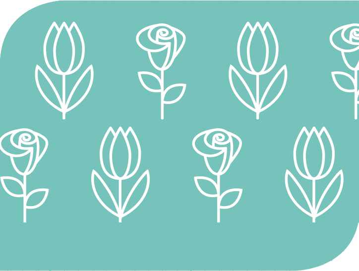 Graphic of flowers.