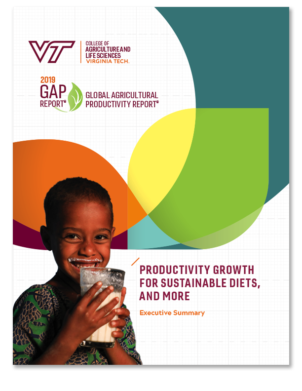 Cover for 2019 GAP Report.