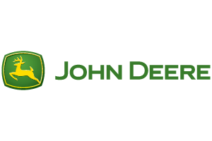 Logo for John Deere.